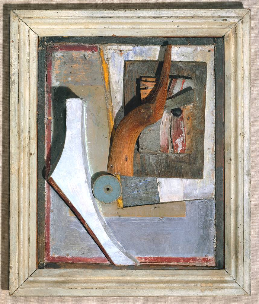 Kurt Schwitters (Relief in Relief) circa 1942-5 Oil on wood and plaster object: 495 x 413 x 102 mm Purchased 1970 DACS, 2002