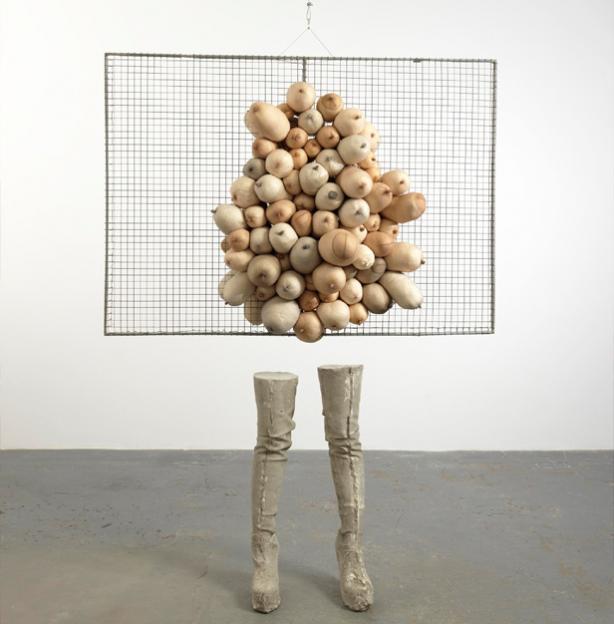 Sarah Lucas, 'Nice Tits', 2001 (© Sadie Coles HQ, London)