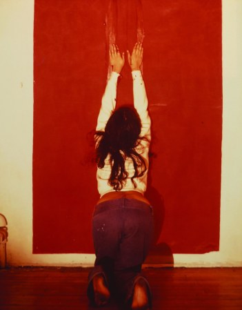 Ana Mendieta, Untitled (Body Tracks), 1974