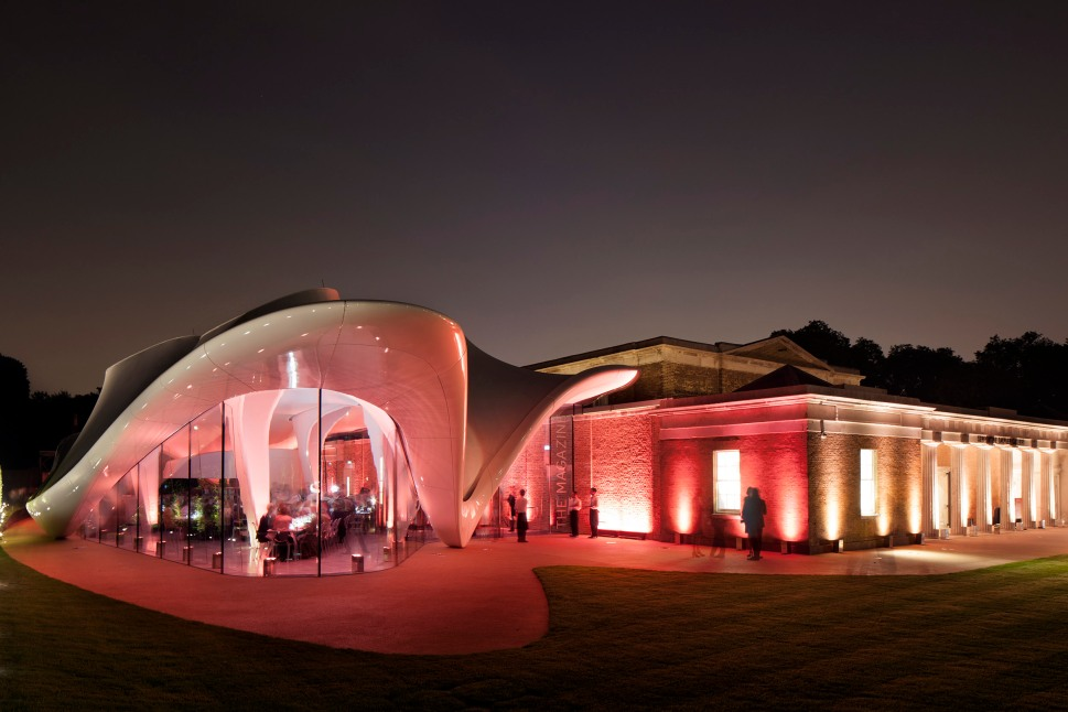Serpentine Sackler Gallery © 2013 Luke Hayes