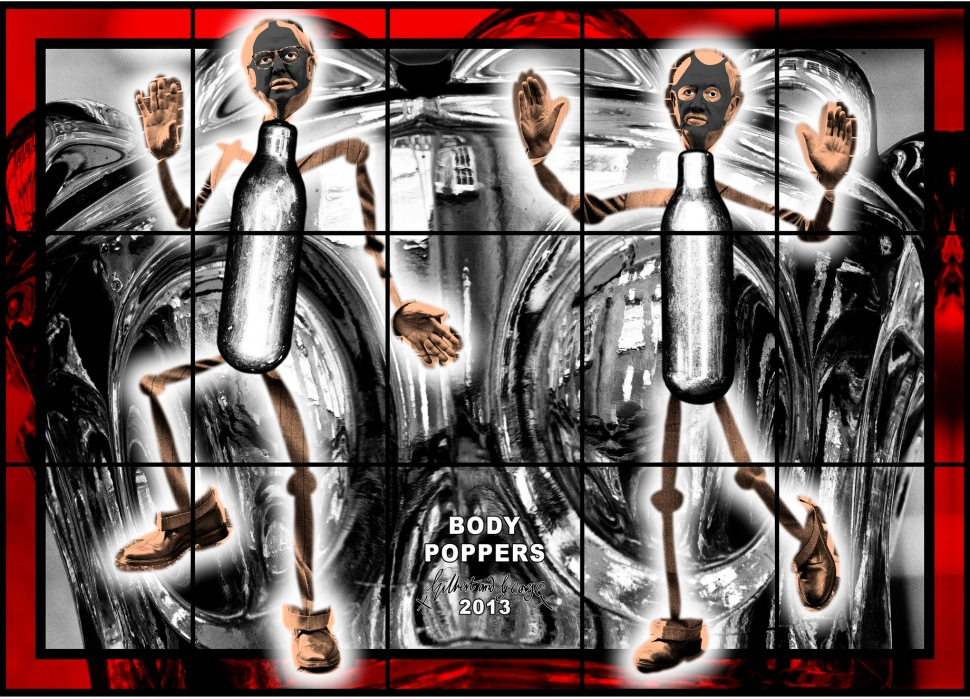 Gilbert and George, BODY POPPERS, 2013 © 2013 Gilbert and George