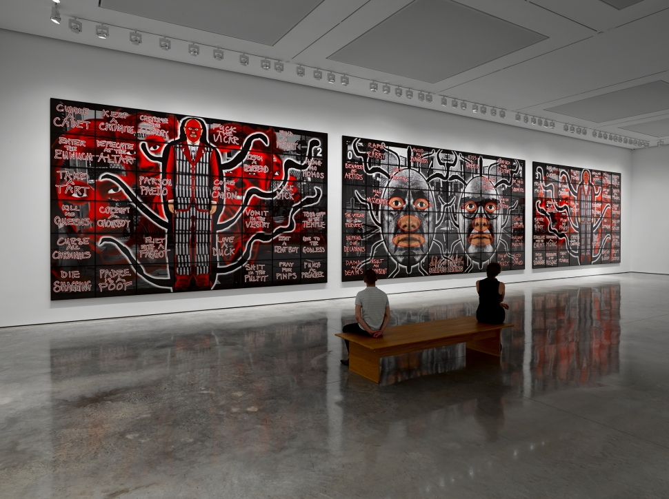 Gilbert & George, SCAPEGOATING © 2014 Gilbert & George. Photo: Jack Hems